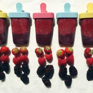 zomerfruit ijsjes