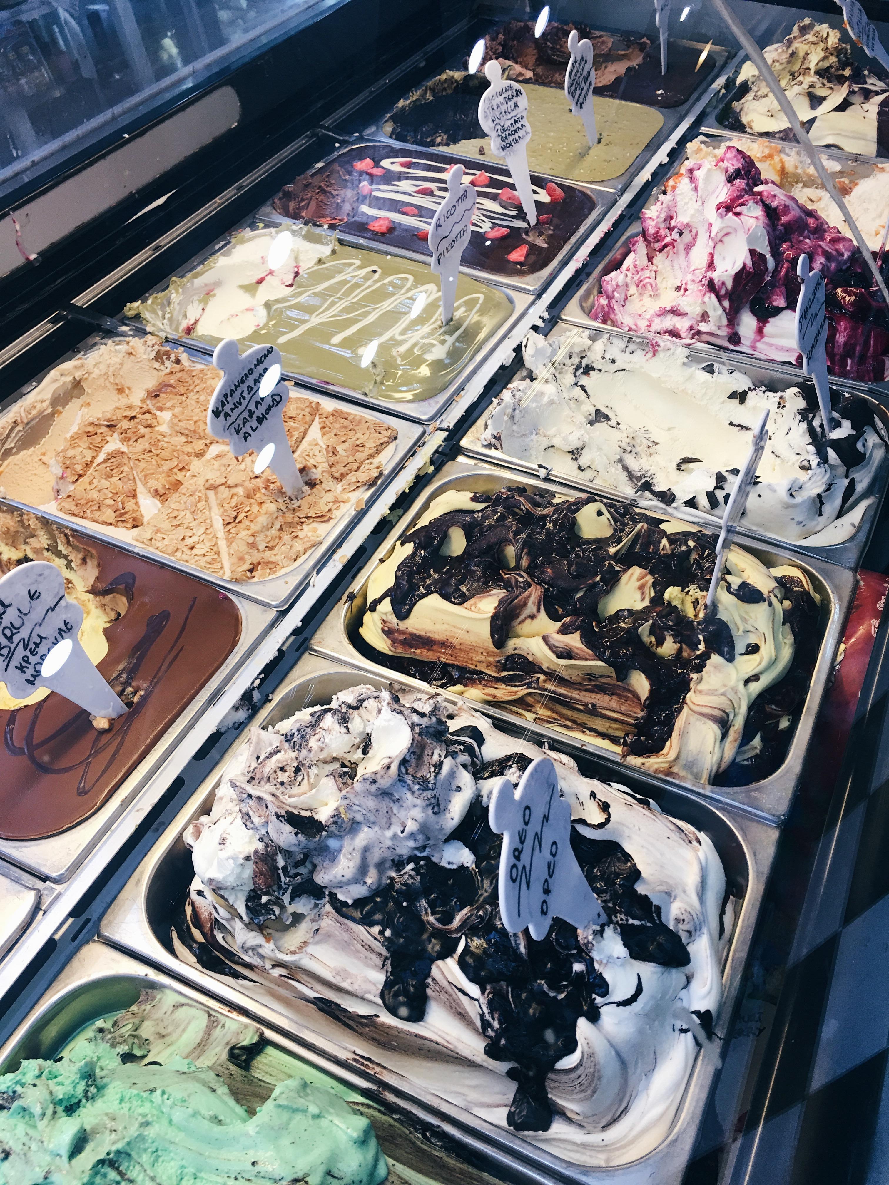 best icecream of Kos