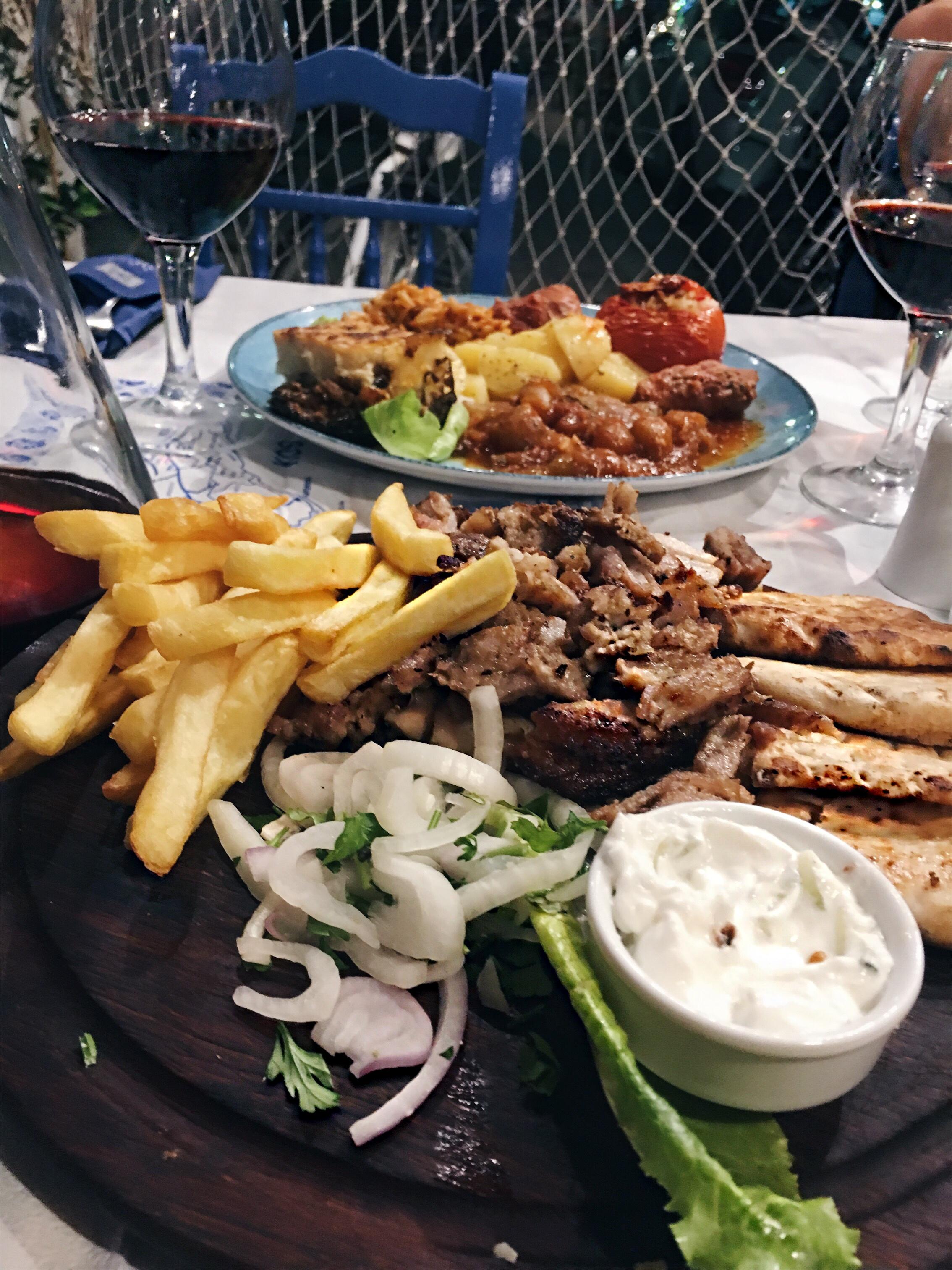 Food hotspots op Kos