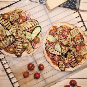 gezonde wrap pizza