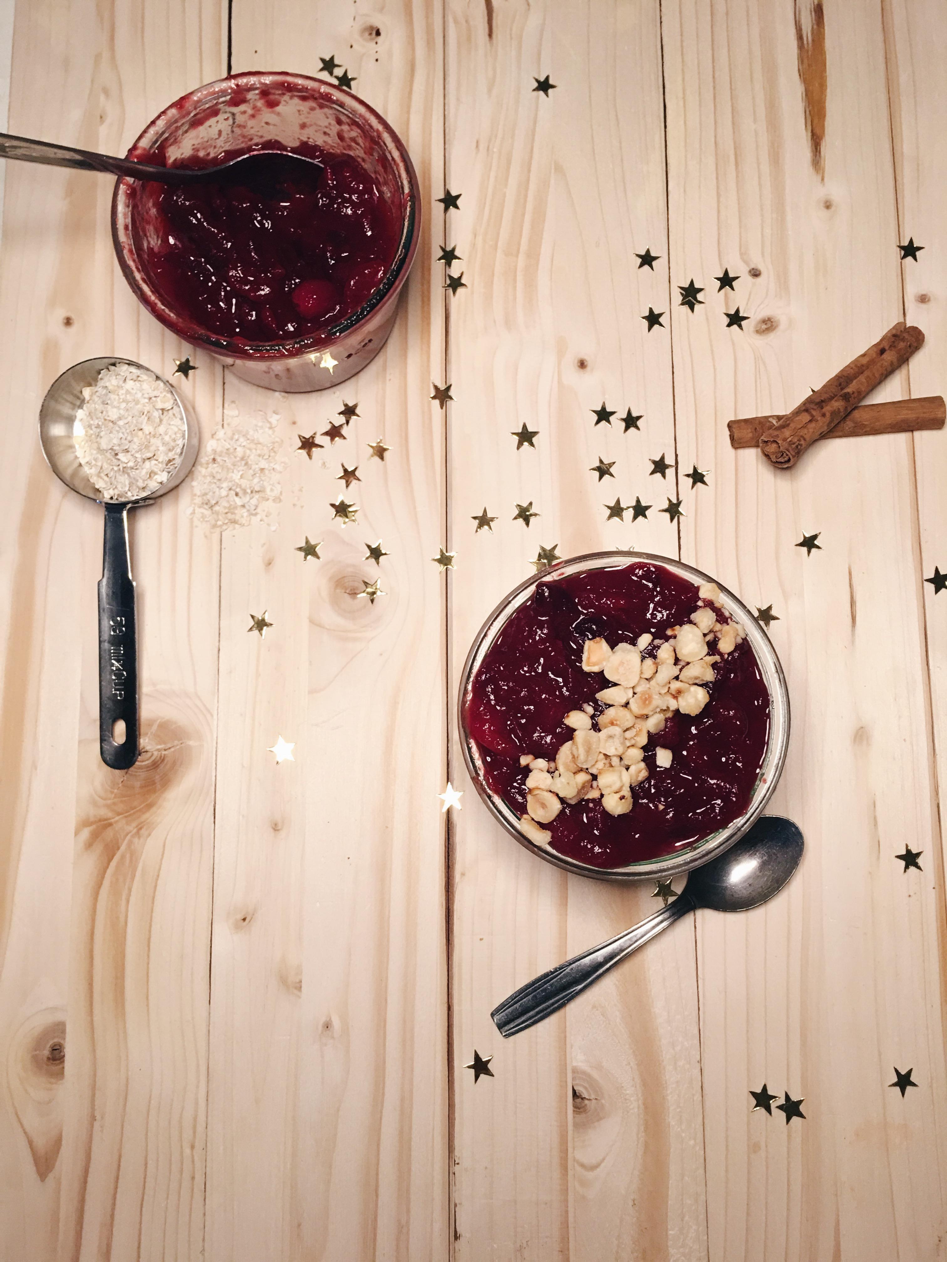 overnight-oats-kerstrecept