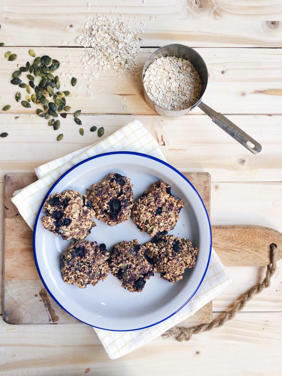granolakoeken-ontbijt