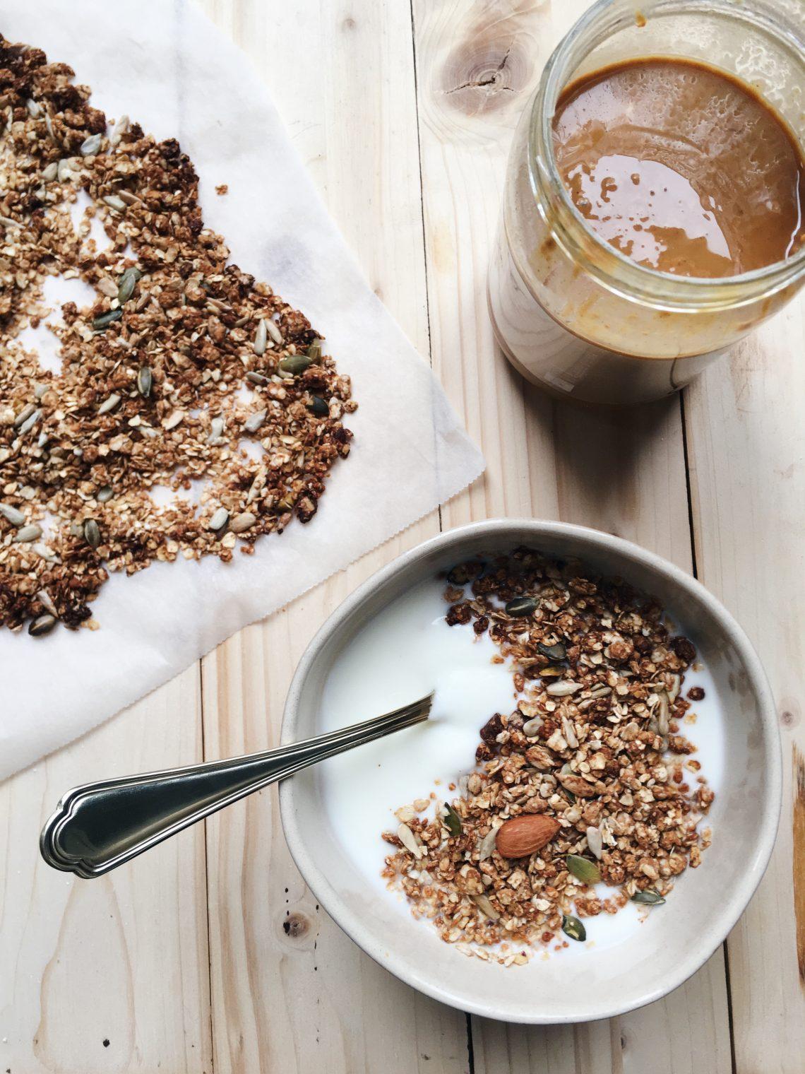 pindakaas-granola
