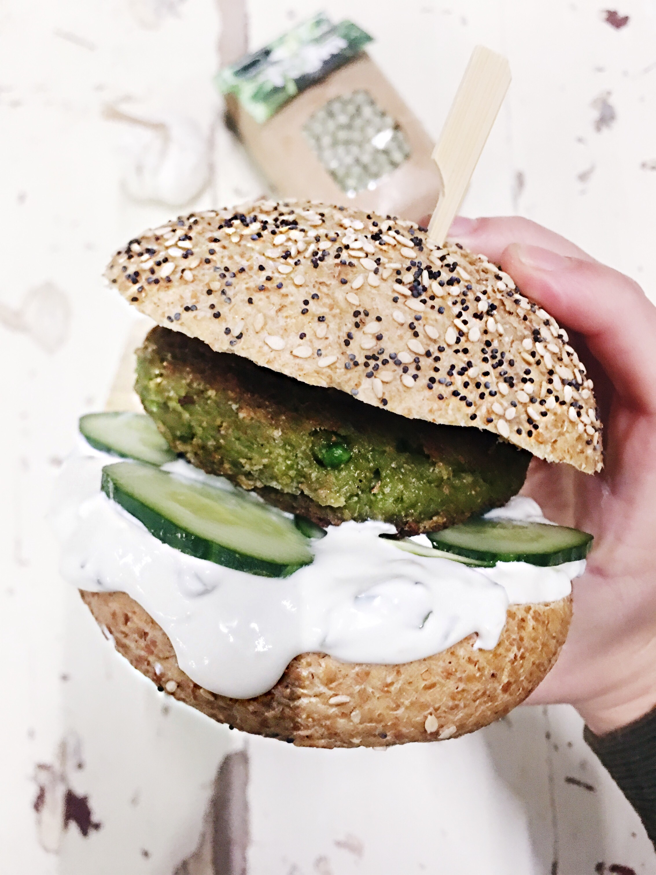falafelburger-recept