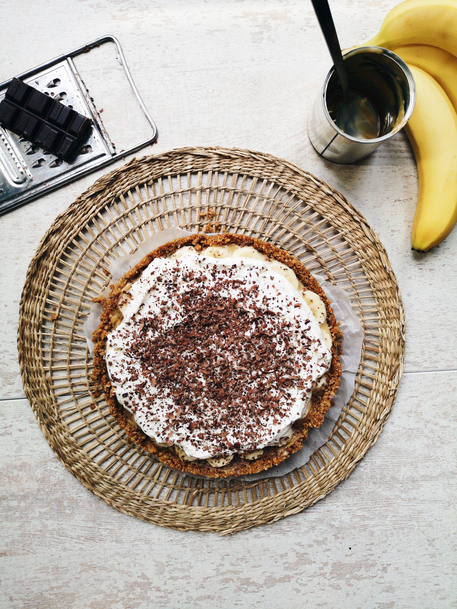 banoffee-taart-maken