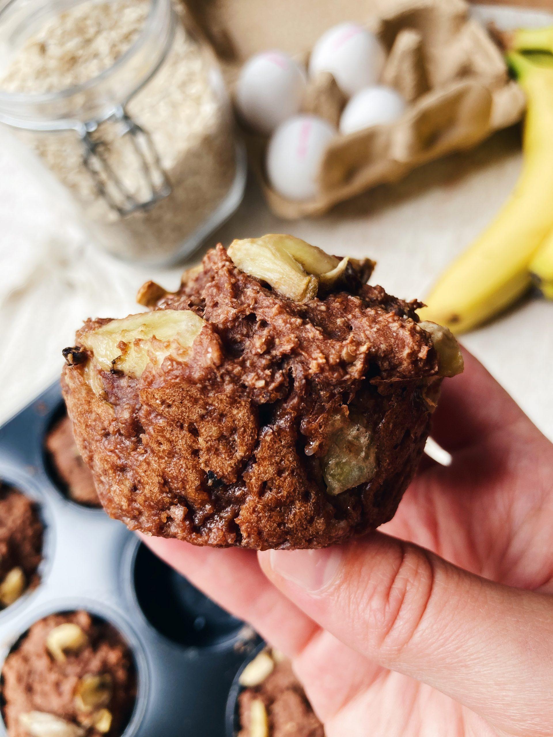 kwarkbollen-banaan-chocolade