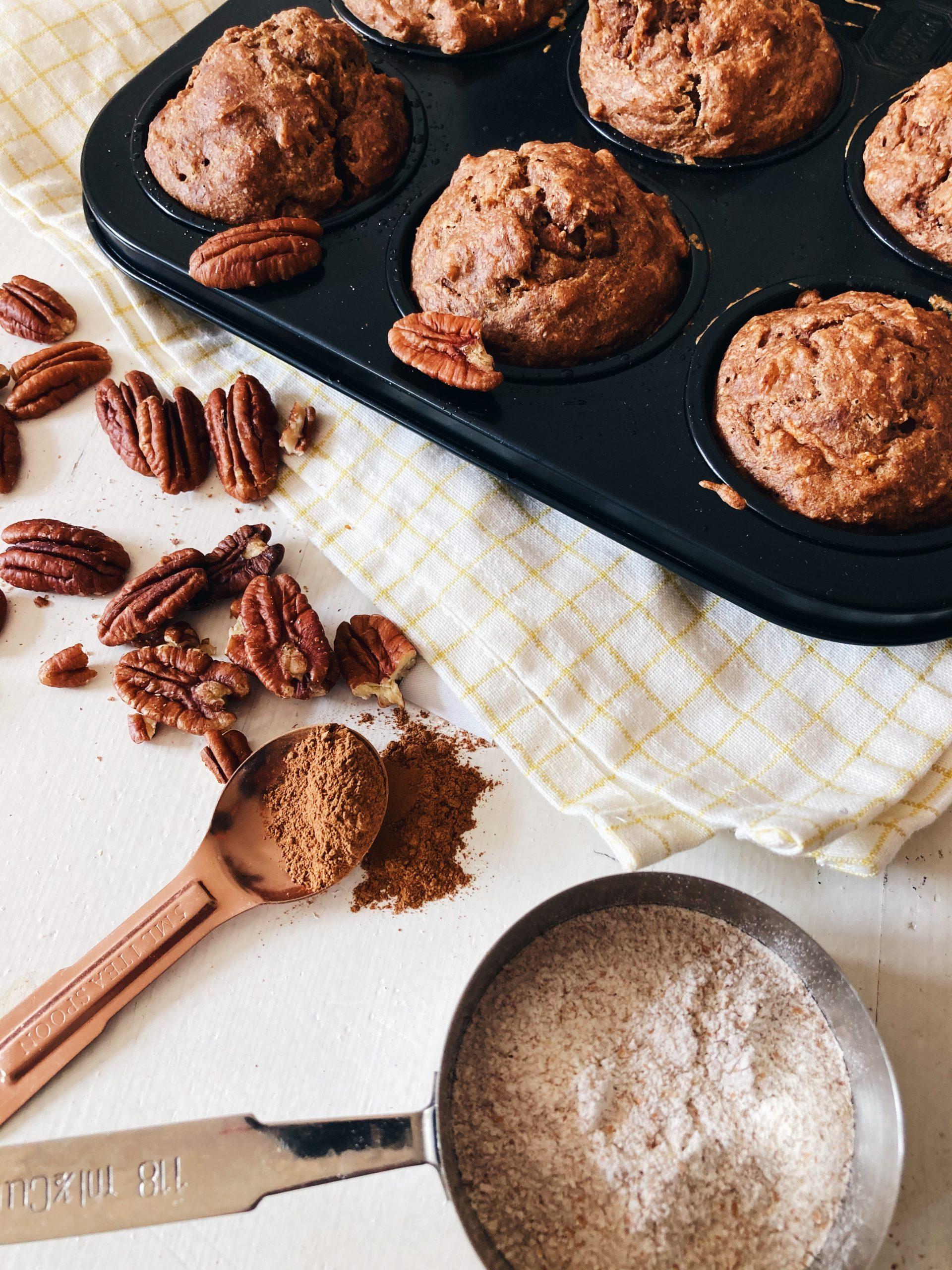 vegan-carrot-cake-muffins