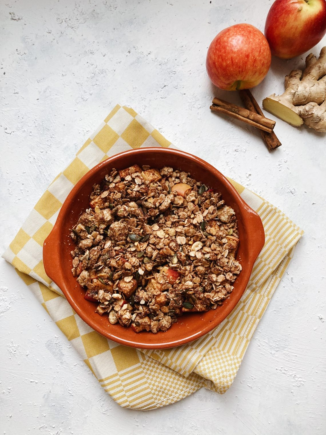 appel-gember-crumble