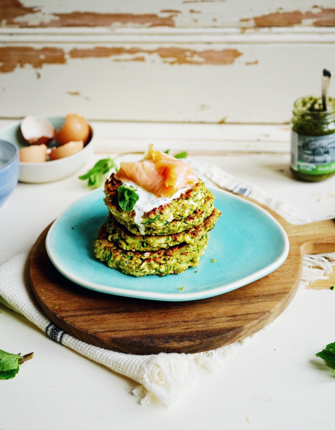 courgette-fritters